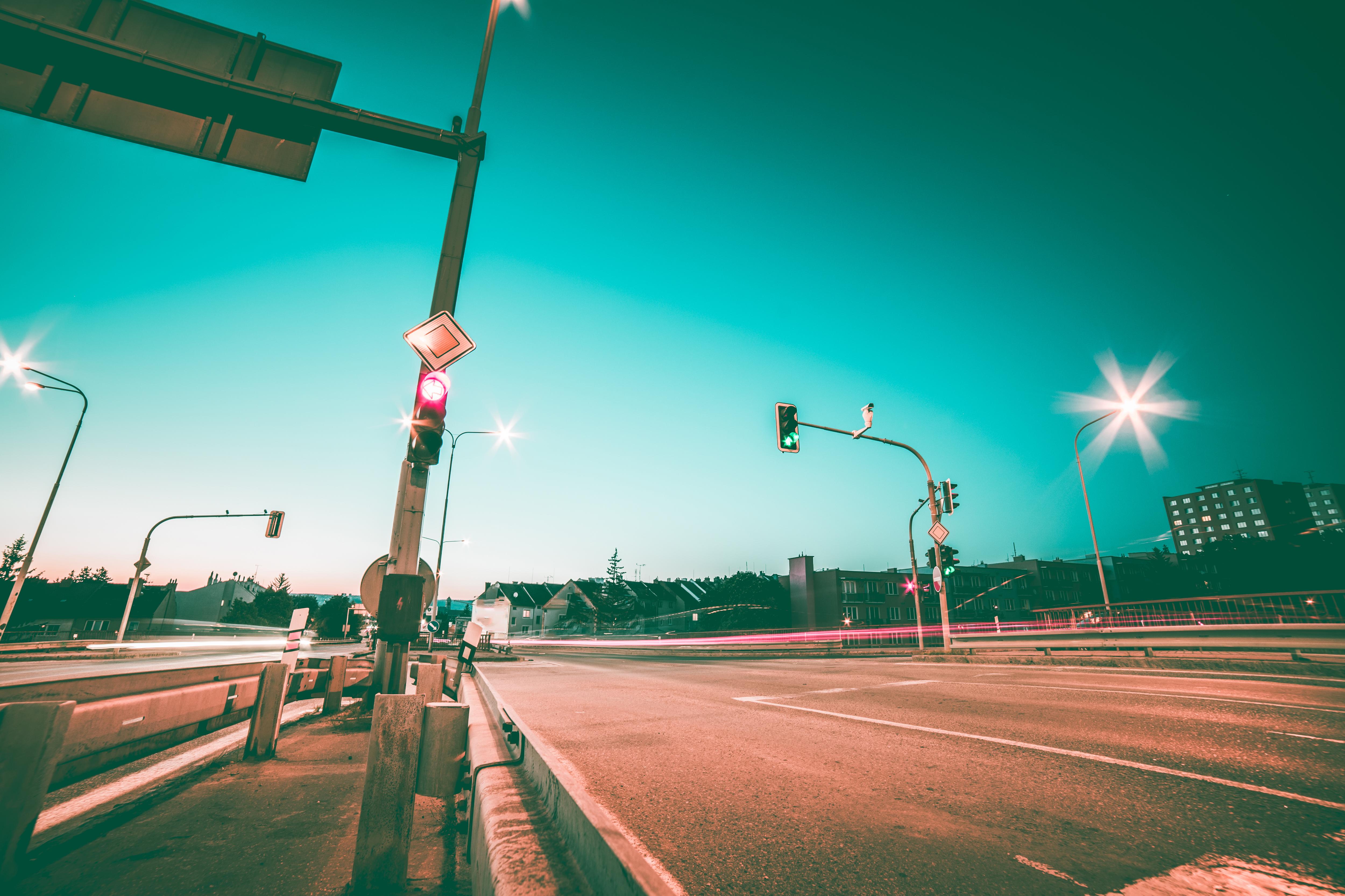 road-intersection-and-traffic-lights-2-picjumbo-com
